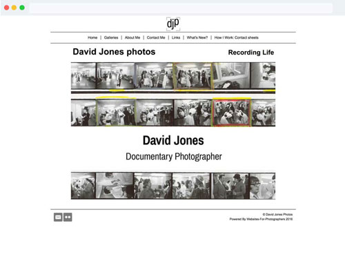 Websites For Photographers Website