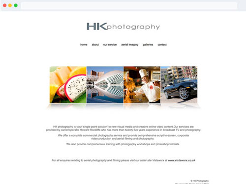 Build Photographers Website