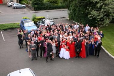 Wedding photography at The Royal Ivy Hotel, Bridge of Allan