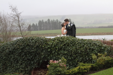 Wedding photography at Lochside House Hotel
