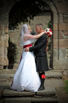 Wedding Photography at Mains Castle, Dundee