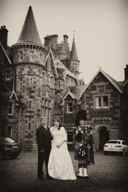 Wedding photography at Ardverikie House
