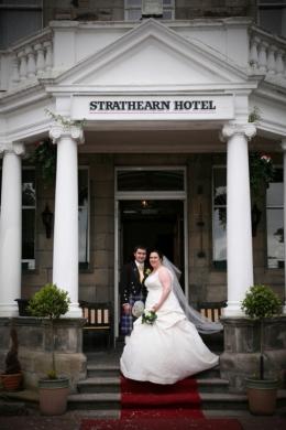 wedding photography at The Strathearn Hotel, Kirkcaldy